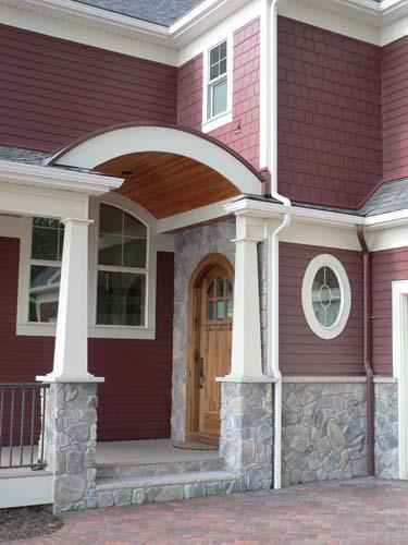 Side entrance after