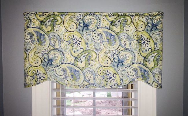 window treatment scalloped