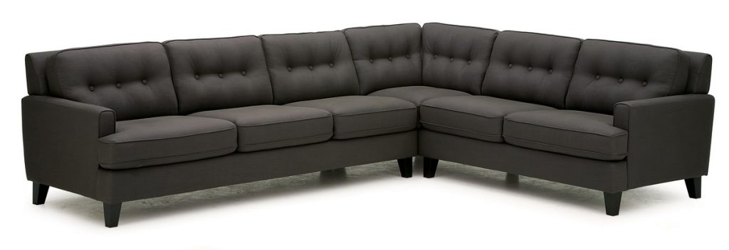Barbara Palliser Leather Sectional Sofa