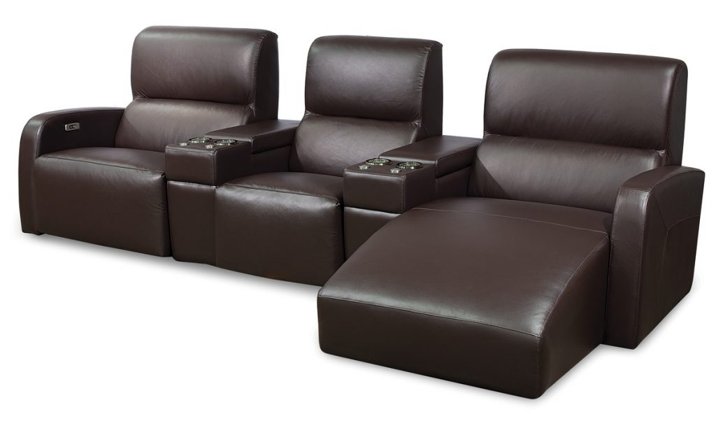 Bari Palliser Leather Power Recliner Reclining Theater Seating