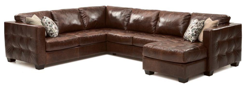 Barrett Palliser Leather Sectional Sofa