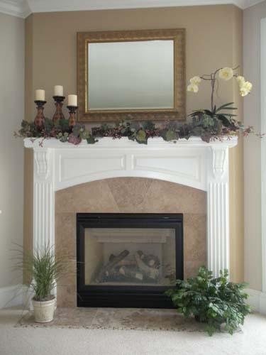 Indovina fireplace after
