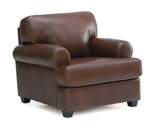 Palliser bakersfield leather chair brown