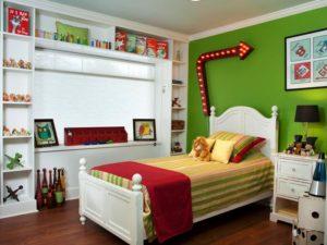 kids bedroom set bed accents